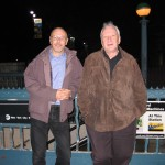 After Dinner with Sir Richard Rodney Bennett - 2010, New York City.